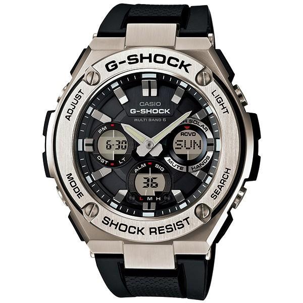 GST-W110-1AJFCASIOカシオG-SHOCKメタルGショックG-STEELGスチール電波ソーラー電波時計アナデジタフ