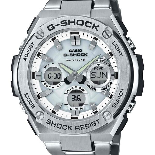 GST-W110D-7AJFG-SHOCKメタルGショックCASIOカシオジーショックG-STEELメタルバンドメンズ腕時計国内