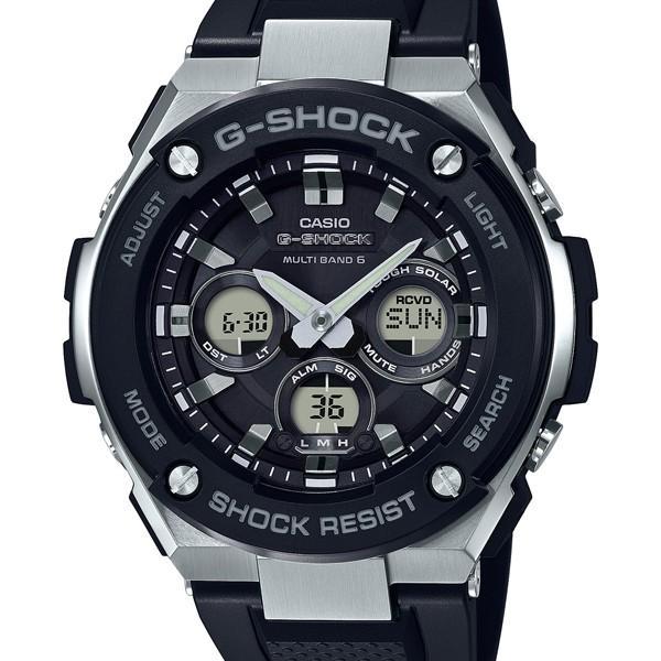 GST-W300-1AJFG-SHOCKメタルGショックジーショックカシオCASIOGスチールジースチールミドルサイズ電波ソーラ