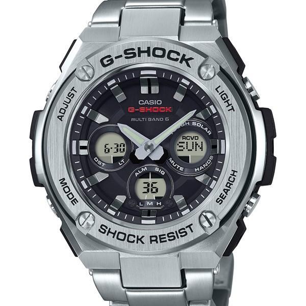 GST-W310D-1AJFG-SHOCKメタルGショックジーショックカシオCASIOGスチールジースチールミドルサイズ電波ソー