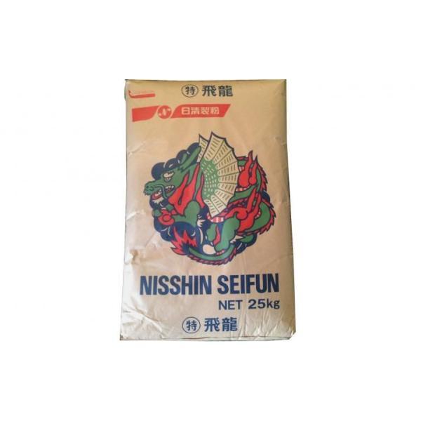 日清製粉 特 飛龍 25kg 中華麺・皮用粉 小麦粉 強力粉