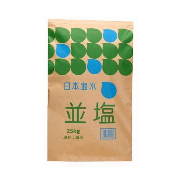 塩 業務用 日本海水 並塩 25kg (讃岐工場)