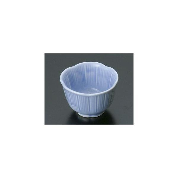 和食器ブルー梅型立筋珍味/大きさ・5.5×3.5cm