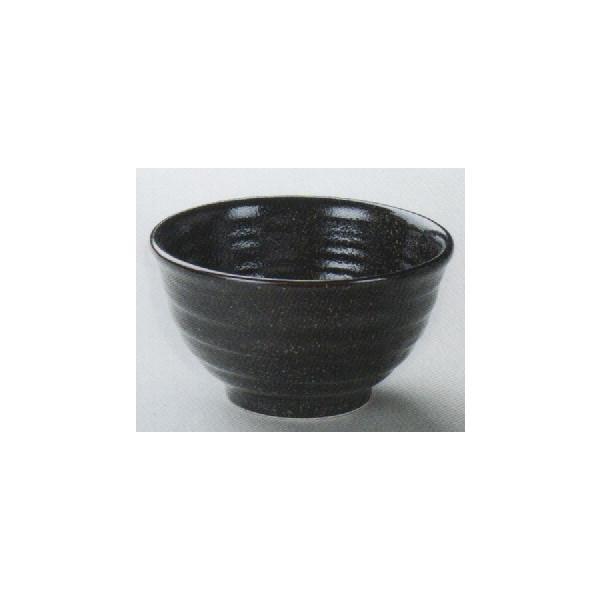和食器どんぶり多用丼飯碗 新黒柚子5.0種丼 大きさ15.3×8.5cm容量840cc 重量494g