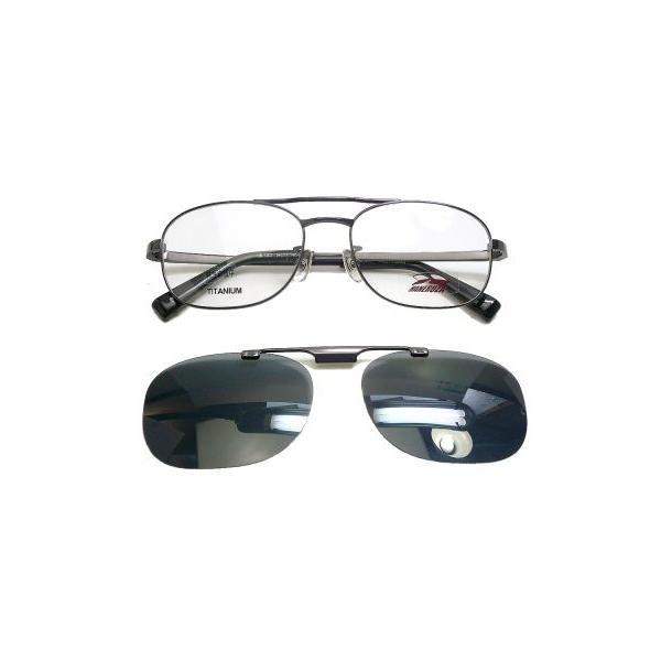 ハネルザ HANERUZA マグネット式偏光ハネアゲ付きメガネ 度付き薄型レンズ付きセット|uemuramegane|02