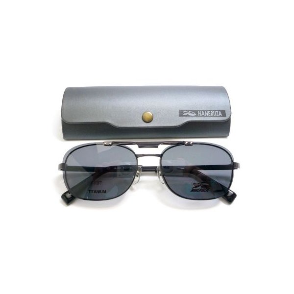 ハネルザ HANERUZA マグネット式偏光ハネアゲ付きメガネ 度付き薄型レンズ付きセット|uemuramegane|03