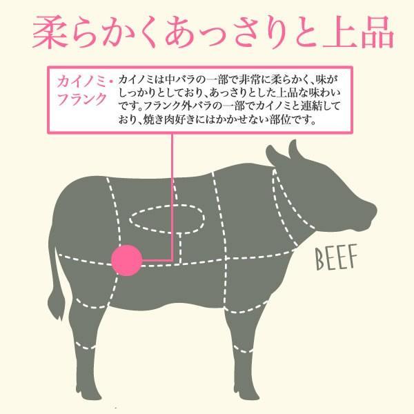 黒毛和牛厚切り焼肉(カイノミ・フランク)<300g>|ueshokufood|03