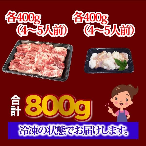 ★期間限定焼肉セット★黒毛和牛カルビ&ミックスホルモン<800g>|ueshokufood|03