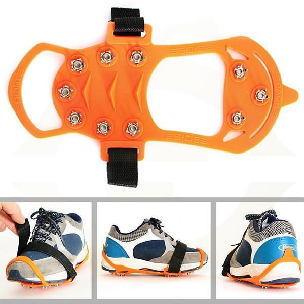 [脱着式]靴底滑り止め アイススパイク 携帯できるので急な雪や登山などに最適! |ufo-japan|02