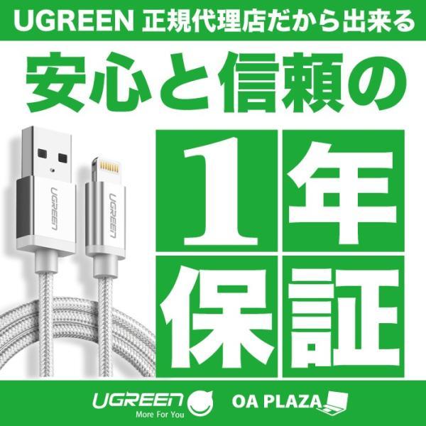 オーディオケーブル 2本セット 3.5mm iPhone スマホ ステレオ ミニプラグ 断線しにくい フラット 片側L字 AUXケーブル オス-オス iPad ヘッドホン ゲーム NP|ugreen-oaplaza|11