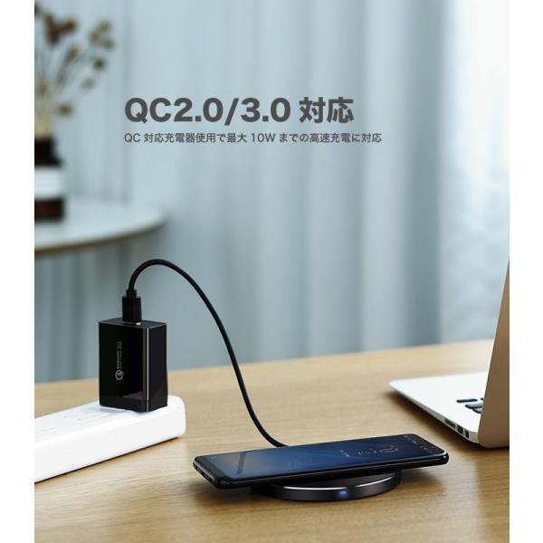 ワイヤレス充電器 iPhone 8 Quick Charger QC 2.0 急速充電に対応 過電流保護 過電圧保護 過熱保護 iPhone 8 Plus iPhone X 対応 1年保証 30570 CD134 NP ugreen-oaplaza 04
