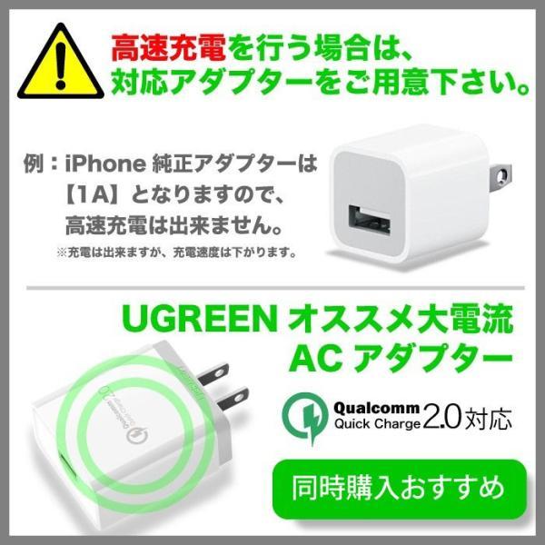 Qi ワイヤレス充電器 iPhone8 iPhoneX 対応 無線充電器 置くだけ galaxys8 android 1年保証 CD171 KON|ugreen-oaplaza|14