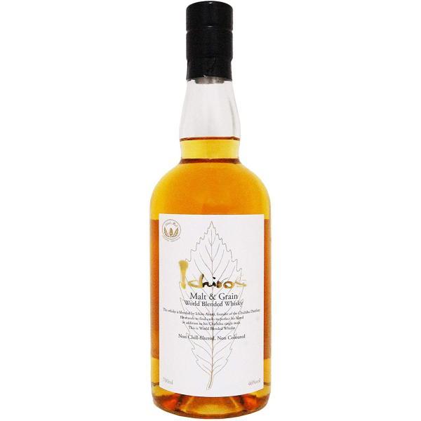 イチローズモルト モルト&グレーン ワールド・ブレンデッド・ウイスキー ホワイトラベル 46度 700ml|uguisuyasaketen