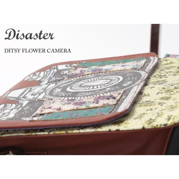 Disaster Designs ショルダーバッグ 花柄 カメラ レディース 女性 ショルダー バッグ