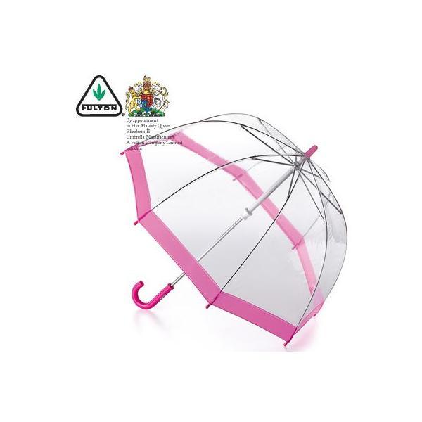 フルトン FULTON バードケージ キッズ かさ 傘 ファンブレラ ピンク 英国王室御用達 子ども 鳥かご Pink C603 ukclozest