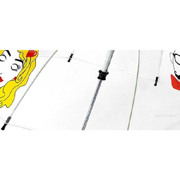 フルトン FULTON バードケージ キッズ かさ 傘 ファンブレラ ファニーフェイス 英国王室御用達 子ども 鳥かご 顔 Funny Face C605|ukclozest|02