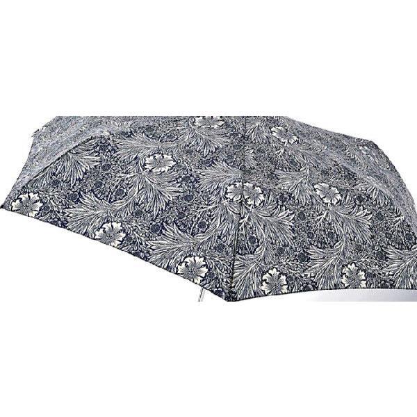 フルトン FULTON かさ 折りたたみ傘 ウィリアム モリス スーパースリム 英国王室御用達 花柄 フラワー 葉っぱ 傘 L714 マリゴールド