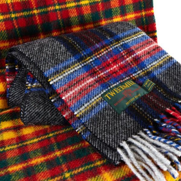 【 ツイードミル 正規】 Tweedmill 183x48cm ストール スカーフ マフラー 送料無料 17色 タータンチェック 限定カラー|ukclozest|07