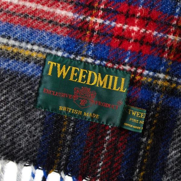 【 ツイードミル 正規】 Tweedmill 183x48cm ストール スカーフ マフラー 送料無料 17色 タータンチェック 限定カラー|ukclozest|08