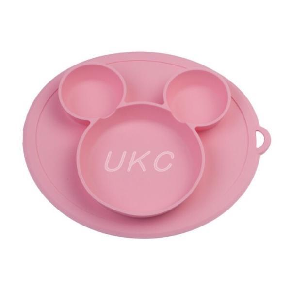 新色登場 ひっくり返らないベビー食器 離乳食 シリコンお皿 赤ちゃん ひっくり返らないお皿 動かないお皿|ukcshop|05