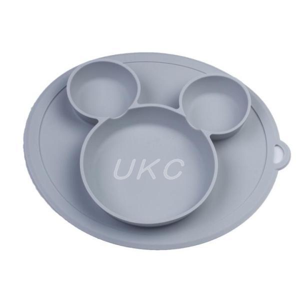 新色登場 ひっくり返らないベビー食器 離乳食 シリコンお皿 赤ちゃん ひっくり返らないお皿 動かないお皿|ukcshop|08