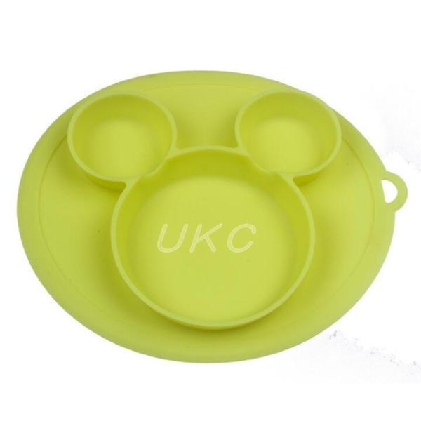 新色登場 ひっくり返らないベビー食器 離乳食 シリコンお皿 赤ちゃん ひっくり返らないお皿 動かないお皿|ukcshop|10