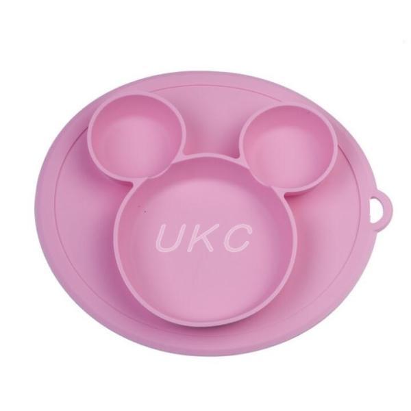 新色登場 ひっくり返らないベビー食器 離乳食 シリコンお皿 赤ちゃん ひっくり返らないお皿 動かないお皿|ukcshop|11