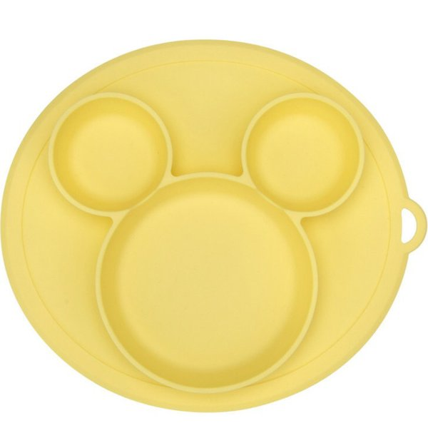 新色登場 ひっくり返らないベビー食器 離乳食 シリコンお皿 赤ちゃん ひっくり返らないお皿 動かないお皿|ukcshop|20