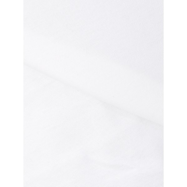 カットソー/レディース/コットンスムース ラウンドネックビジュー付きキャップスリーブプルオーバー ホワイト|uktsc|08
