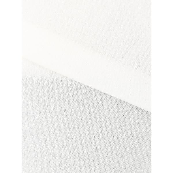 カットソー/レディース/ウォッシャブル/ドライスムース ボウタイ7分袖カットソー ホワイト|uktsc|07