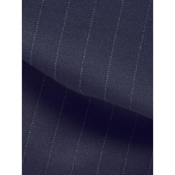 2パンツスーツ/メンズ/通年/ツーパンツ/FIT 2つボタンスーツ ピンストライプ CH-14 ネイビー×ブルー|uktsc|02