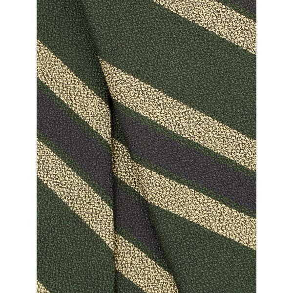 ネクタイ/レギュラータイ/メンズ/blazer's bank.com/ストライプ×織柄ネクタイ グリーン系|uktsc|04