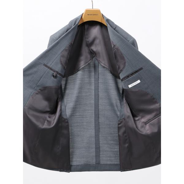 2パンツスーツ/メンズ/春夏/ツーパンツ/FIT 2つボタンスーツ 無地 CH-14 ブルーグレー|uktsc|05