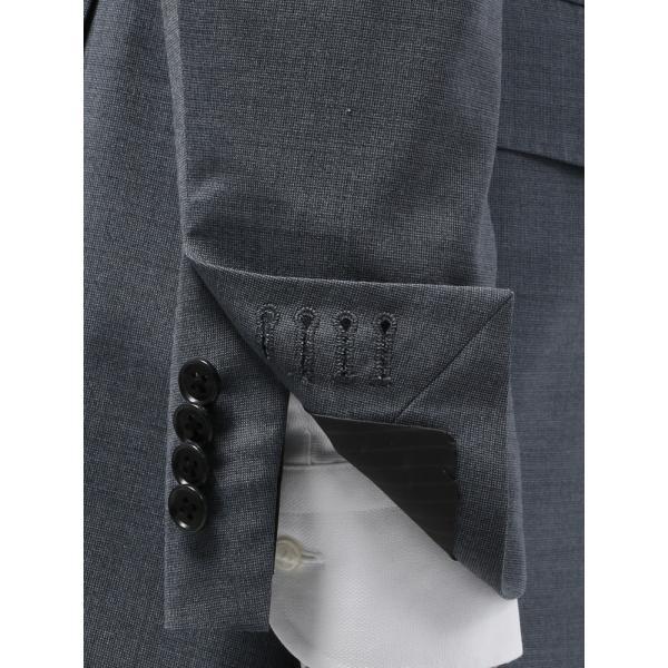 2パンツスーツ/メンズ/春夏/ツーパンツ/FIT 2つボタンスーツ 無地 CH-14 ブルーグレー|uktsc|06