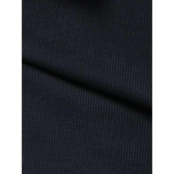2パンツスーツ/メンズ/春夏/ツーパンツ/BASIC 2つボタンスーツ ピンストライプ IZ-01 ネイビー×ライトグレー|uktsc|02