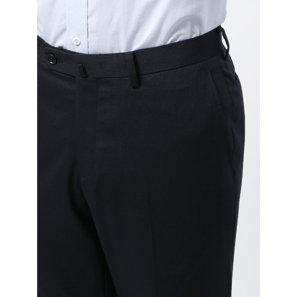 2パンツスーツ/メンズ/春夏/ツーパンツ/BASIC 2つボタンスーツ ピンストライプ IZ-01 ネイビー×ライトグレー|uktsc|08