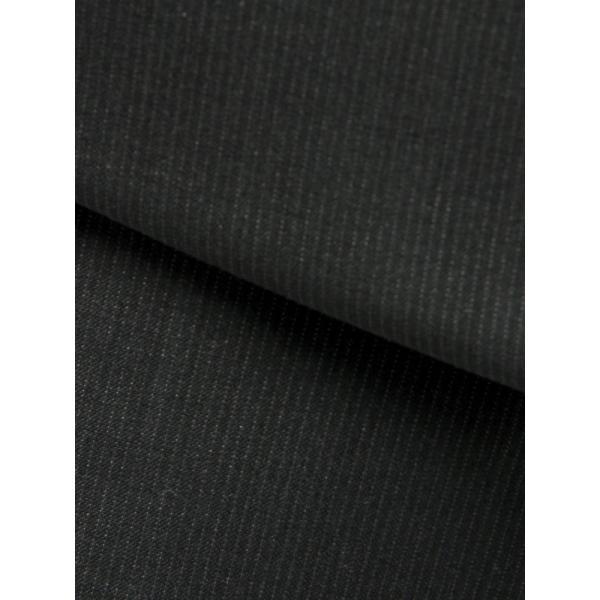 2パンツスーツ/メンズ/春夏/ツーパンツ/BASIC 2つボタンスーツ ピンストライプ IZ-01 チャコールグレー×ミディアムグレー|uktsc|02