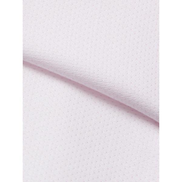 ドレスシャツ/長袖/メンズ/NON IRON STRETCH/ワイドカラードレスシャツ ピンドット 〔EC・BASIC〕 ピンク|uktsc|04