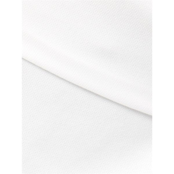 ドレスシャツ/半袖/メンズ/半袖・NON IRON STRETCH/ボタンダウンカラードレスシャツ織柄 〔EC・BASIC〕 ホワイト|uktsc|08