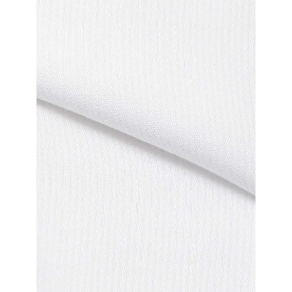 ドレスシャツ/長袖/メンズ/NON IRON STRETCH/ワイドカラードレスシャツ シャドーストライプ 〔EC・FIT〕 ホワイト|uktsc|04