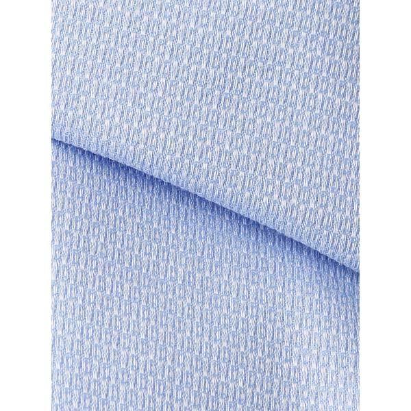 ドレスシャツ/長袖/メンズ/JAPAN QUALITY/クレリック&ワイドカラードレスシャツ 織柄 サックスブルー×ホワイト|uktsc|04