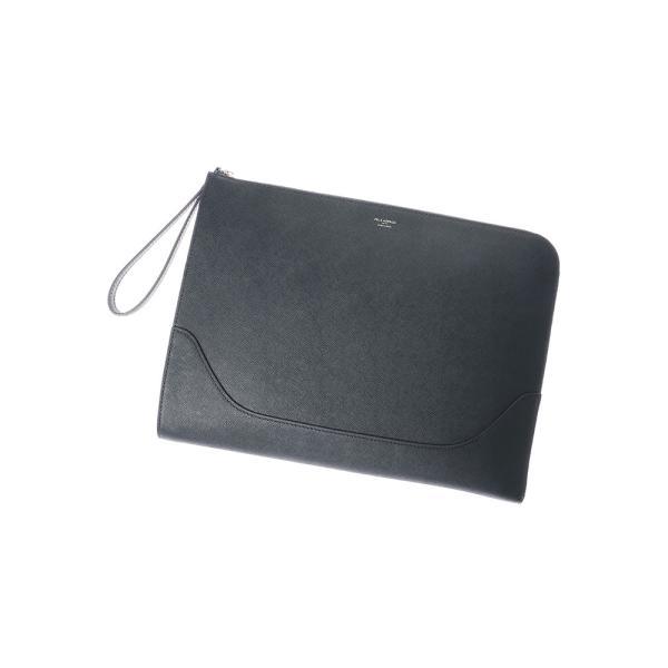 クラッチバッグ/メンズ/PELLE MORBIDA/型押しレザー クラッチバッグ ネイビー|uktsc|05