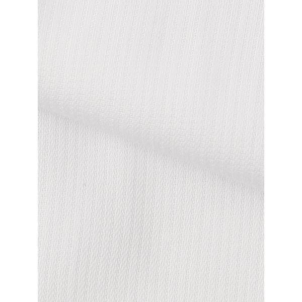 ドレスシャツ/長袖/メンズ/SUPER EASY CARE/ワイドカラードレスシャツ 織柄 〔EC・BASIC〕 ホワイト|uktsc|04