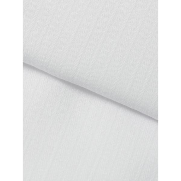 ドレスシャツ/長袖/メンズ/ワイドカラードレスシャツ シャドーストライプ 〔EC・FIT〕 ホワイト|uktsc|04