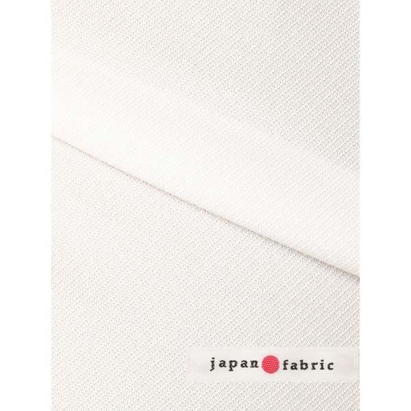 ドレスシャツ/長袖/メンズ/ジャージー素材/ワイドカラードレスシャツ 織柄 オフホワイト|uktsc|07