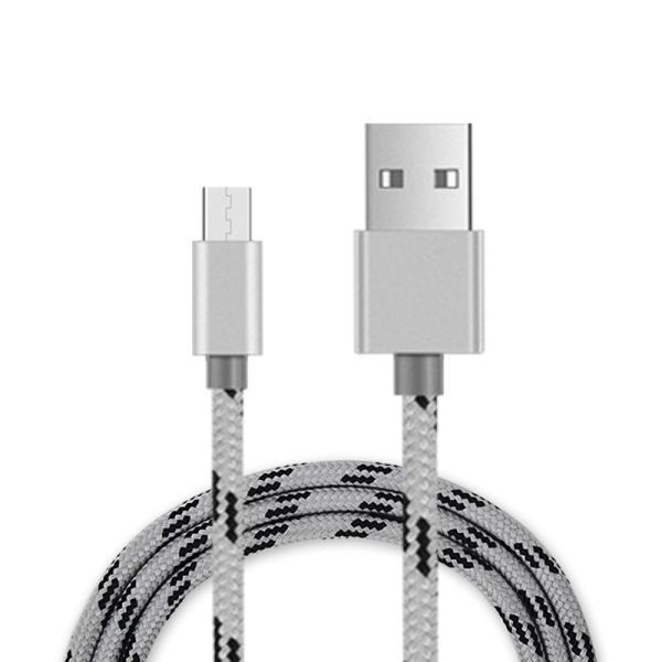 アンドロイド 充電ケーブル 2m アルミ端子 ナイロン製 スマホケーブル マイクロusb microusb DOCOMO GALAXYS3 USBケーブル 充電器 スマートフォン ケーブル|ulink|06