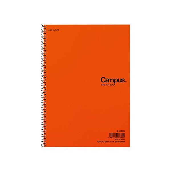 コクヨ キャンパス スケッチブック B5 一般・学用 厚口22枚 エ-200N 人気商品 商品は1点 ( 本 ) の価格になります。|ulmax|02