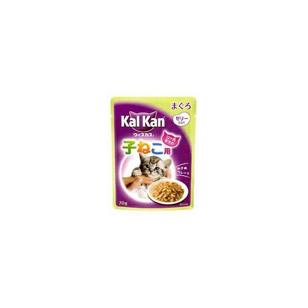 カルカン パウチ 12ヶ月までの子ねこ用 まぐろ 70g キャットフード 猫 ネコ ねこ キャット cat ニャンちゃん【送料無料】 商品は1点 (個) の価格になります。|ulmax