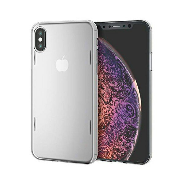 エレコム iPhone Xs ケース AQUA樹脂採用 薄さ0.6mm 本体をぎりぎりまで包み込む極み設計 X対応 クリア PM-A18BAQCR XS   シェルカバー   AQUA   ELECOM ulmax 02