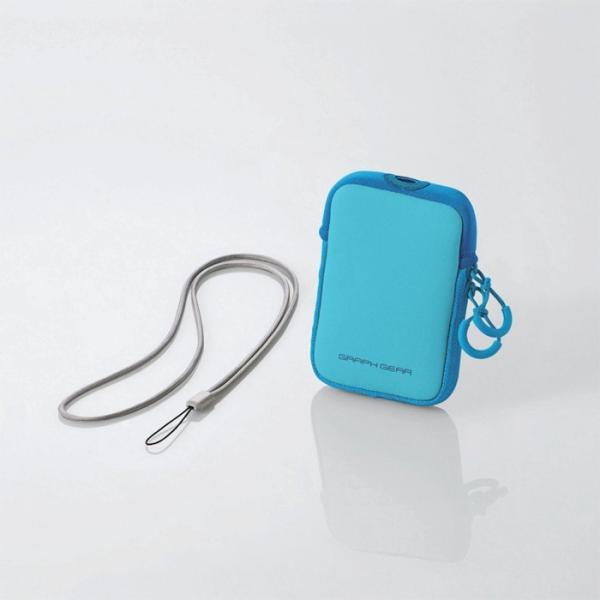 デジタルカメラケース ピンク ブルー グレー  伸縮素材 |ulmax|03
